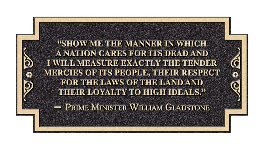 William Gladstone quote