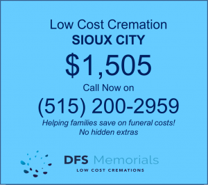 Direct cremation in Sioux City, IA