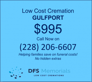 Simple cremation Gulfport MS