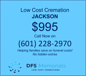 Direct cremation in Jackson MS