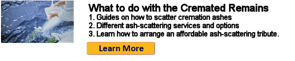 What to do with cremation remains: Ash scattering options