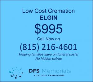 Simple cremation service Elgin IL