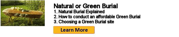 Green Burial or Natural Burial