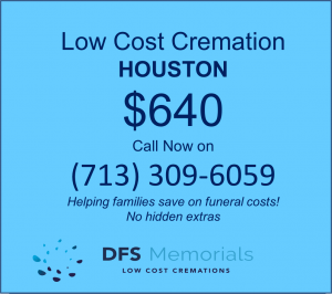 Lowest cost cremation Houston TX