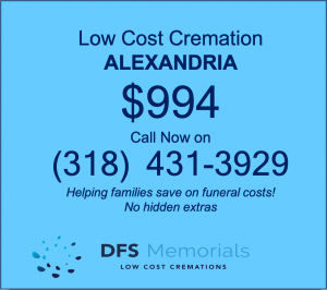 Direct cremation Alexandria LA