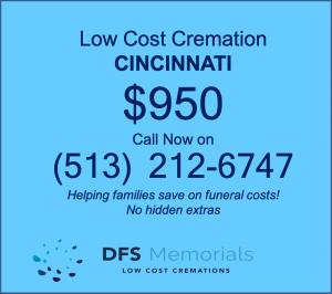 Cremation costs in Cincinnati OH