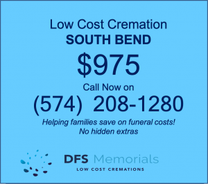 Cremation costs South Bend IN