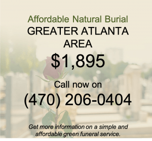 Green burial Atlanta Georgia